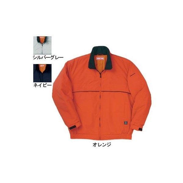 桑和 7203 エコ防寒ブルゾン 撥水 表:ポリエステル100%(再生繊維100%) 裏:ポリエステル100%(タフタキルト) 中綿:ポリエステル100%