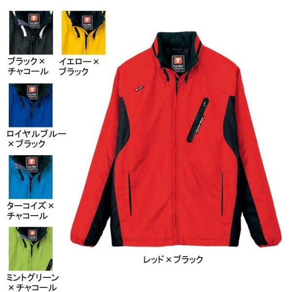 アイトス AZ-10304 フードイン中綿ジャケット(男女兼用) 表地:リップストップ・平織り・ポリエステル100% 中綿:ポリエステル100% 撥水
