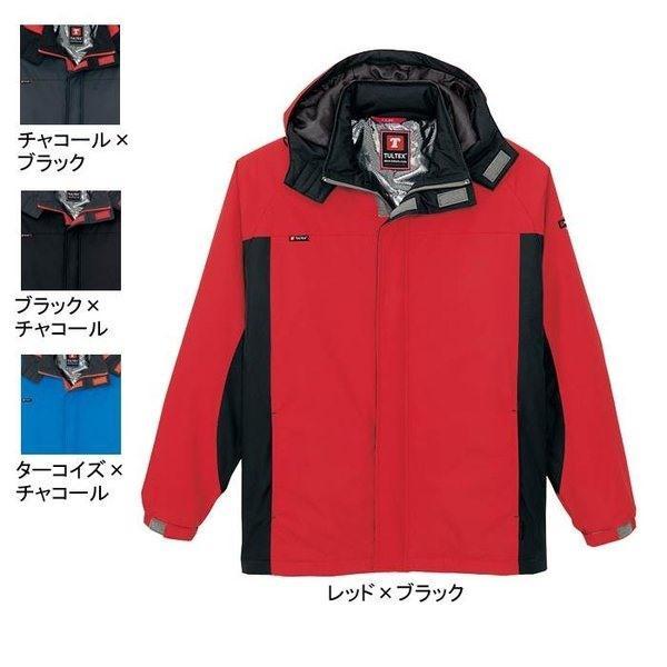 アイトス AZ-50109 防寒ジャケット(男女兼用) 表地:マイクロリップ・平織り・ポリエステル100% 中綿:ポリエステル100% 背裏:アルミ裏地 撥水