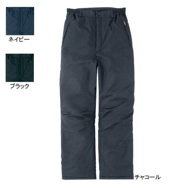 アイトス TULTEX AZ-8472 防寒パンツ(男女兼用) 表地:ポリエステルリップ・平織り・ポリエステル100% 中綿:ポリエステル綿・ポリエステル100% 裏地:タフタ・ポリエステル100% 防風