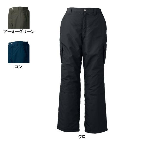 ジーベック 320 防寒ズボン [表]ポリエステル100%(高密度タフタ)、[裏]ポリエステル100%、[中綿]ポリエステル100% 超撥水加工