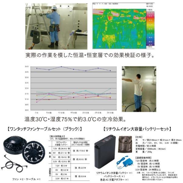 空調服 自重堂 NO5732set 電設作業用空調服 M〜5L|kinsyou-webshop|03