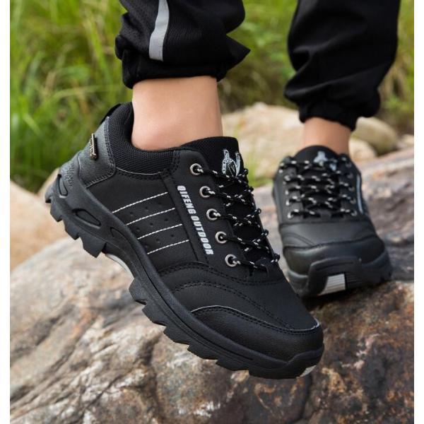 トレッキングシューズ 靴 メンズ レディース スニーカートレッキング アウトドア シューズ 男女兼用 裏起毛 登山靴 ハイキング 防滑 遠足 スポーツ 運動靴 登山|kintatsu|11