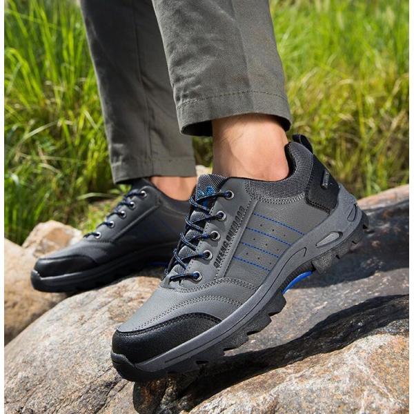 トレッキングシューズ 靴 メンズ レディース スニーカートレッキング アウトドア シューズ 男女兼用 裏起毛 登山靴 ハイキング 防滑 遠足 スポーツ 運動靴 登山|kintatsu|13