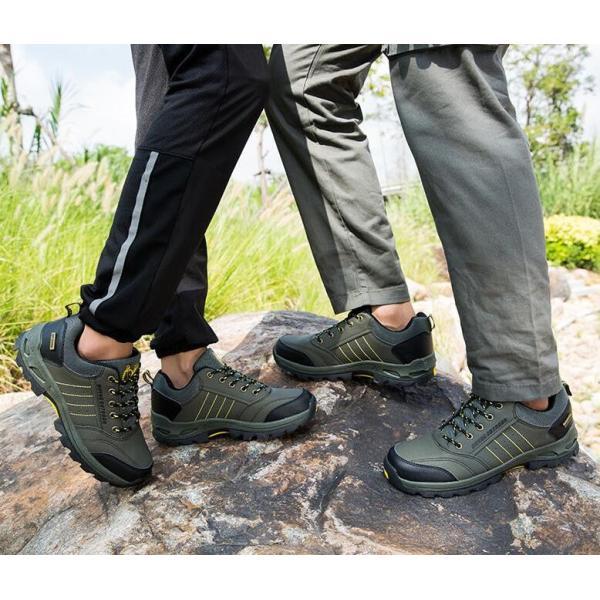 トレッキングシューズ 靴 メンズ レディース スニーカートレッキング アウトドア シューズ 男女兼用 裏起毛 登山靴 ハイキング 防滑 遠足 スポーツ 運動靴 登山|kintatsu|15