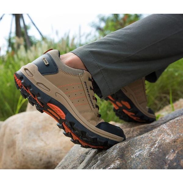 トレッキングシューズ 靴 メンズ レディース スニーカートレッキング アウトドア シューズ 男女兼用 裏起毛 登山靴 ハイキング 防滑 遠足 スポーツ 運動靴 登山|kintatsu|18