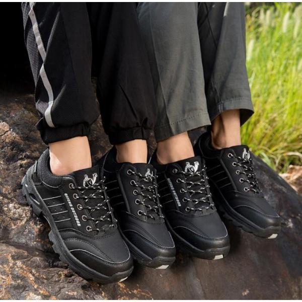 トレッキングシューズ 靴 メンズ レディース スニーカートレッキング アウトドア シューズ 男女兼用 裏起毛 登山靴 ハイキング 防滑 遠足 スポーツ 運動靴 登山|kintatsu|09