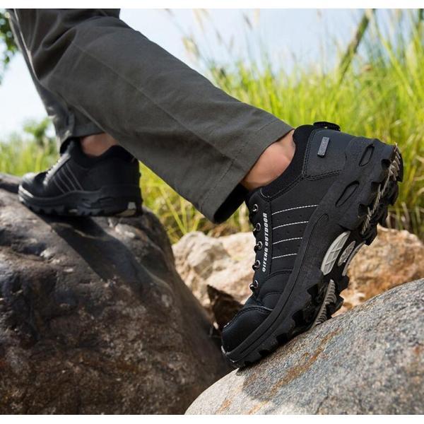 トレッキングシューズ 靴 メンズ レディース スニーカートレッキング アウトドア シューズ 男女兼用 裏起毛 登山靴 ハイキング 防滑 遠足 スポーツ 運動靴 登山|kintatsu|10