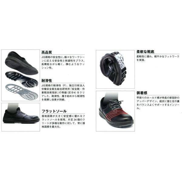 安全靴 Simon シモン 短靴 ウォーキングセーフティ 大きいサイズ 29cm 30cm  SX3層底 WS11 kintokiya 03
