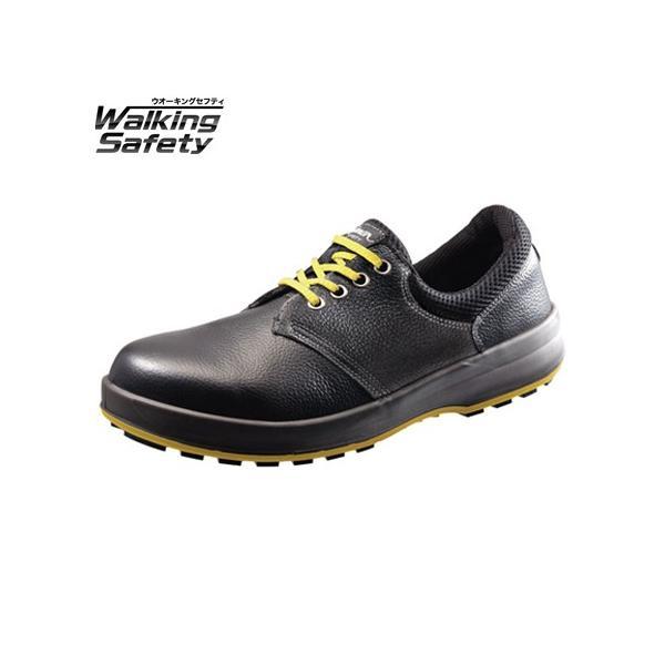 静電 安全靴 Simon シモン 短靴 大きいサイズ 29cm 30cm ウォーキングセーフティ SX3層底 WS11黒静電靴
