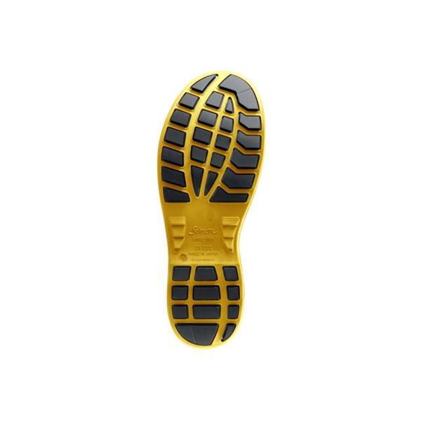 静電 安全靴 Simon シモン 短靴 ウォーキングセーフティ SX3層底 WS11黒静電靴|kintokiya|02