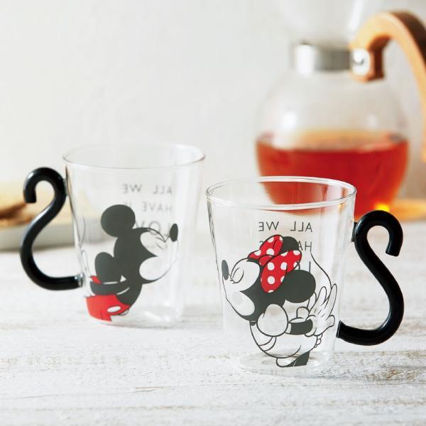ディズニー 食器セット ミッキー マグカップ ペア 耐熱ガラス 290ml 結婚祝い プレゼント kintouen 02