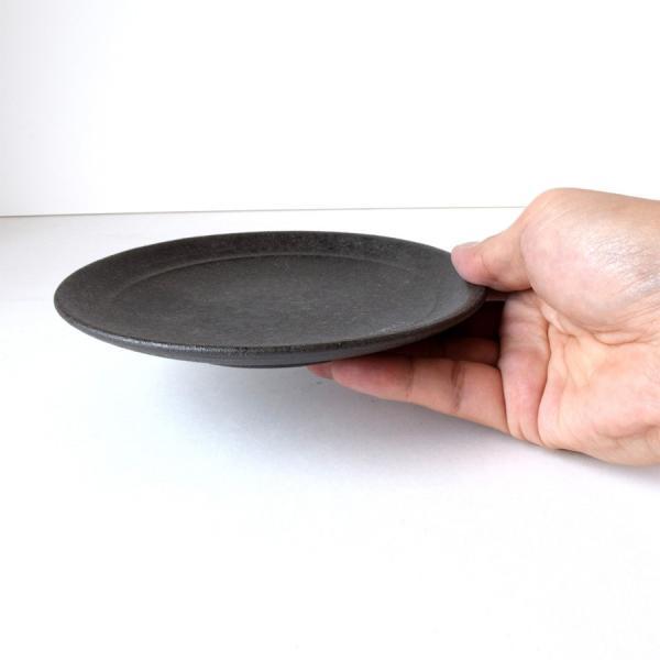 和食器 中皿 炭化 プレート M おしゃれ 美濃焼 日本製|kintouen|03