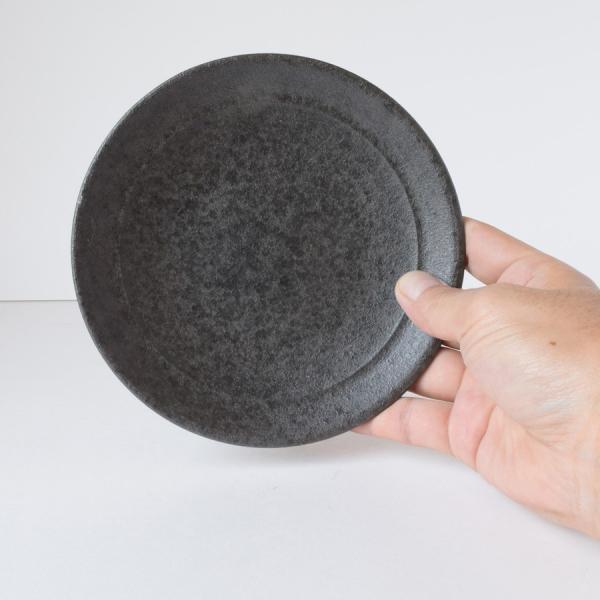 和食器 中皿 炭化 プレート M おしゃれ 美濃焼 日本製|kintouen|04