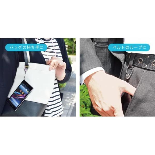 ネックストラップ おしゃれ ブランド カラビナ キーホルダー フック 携帯ネックストラップ 首掛け 落下防止ストラップ 社員証|kintsu|05