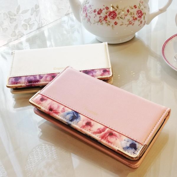 スマホケース 手帳型 Galaxy a30 s10 s10+ s9+ 携帯ケース GALAXY feel2 S8 おしゃれ 花柄 ギャラクシーS10 スマホカバー|kintsu|08