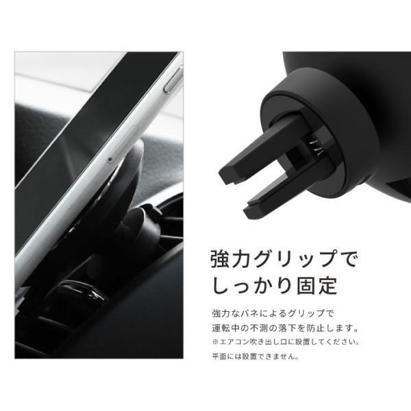 ワイヤレス充電器 qiワイヤレス充電 iphone8 iphonex 急速充電 アイフォン8 車載ホルダー galaxy 置くだけ kintsu 04