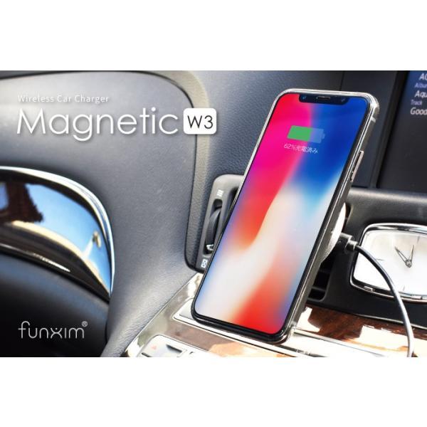 ワイヤレス充電器 qiワイヤレス充電 iphone8 iphonex 急速充電 アイフォン8 車載ホルダー galaxy 置くだけ kintsu 08