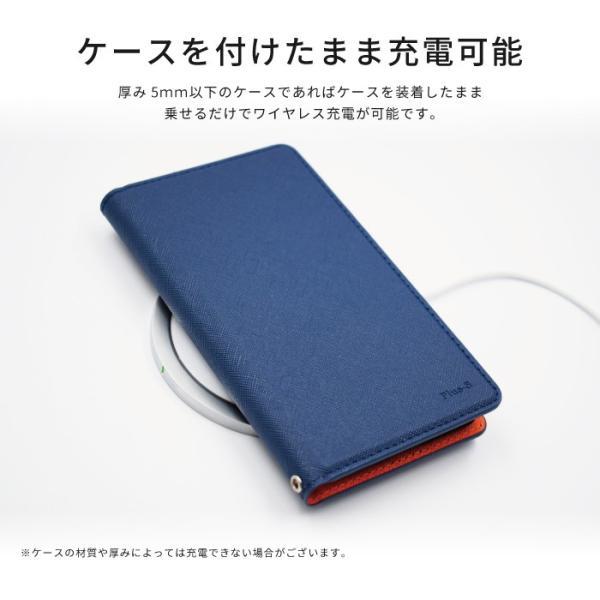 ワイヤレス充電器 qiワイヤレス充電 iphone8 iphonex 急速充電 アイフォン8 galaxy 置くだけ qi急速|kintsu|05