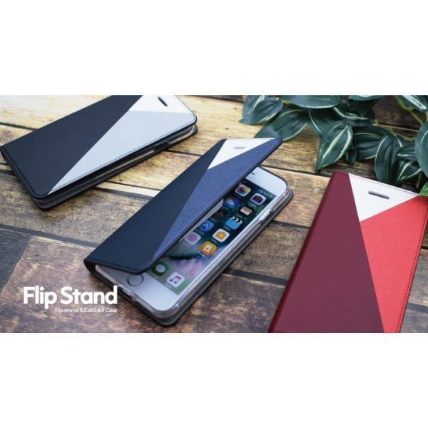 スマホケース 手帳型 iphone8 plus iphone xs 携帯ケース アイフォン スタンド iphone7 カバー レザー|kintsu|12