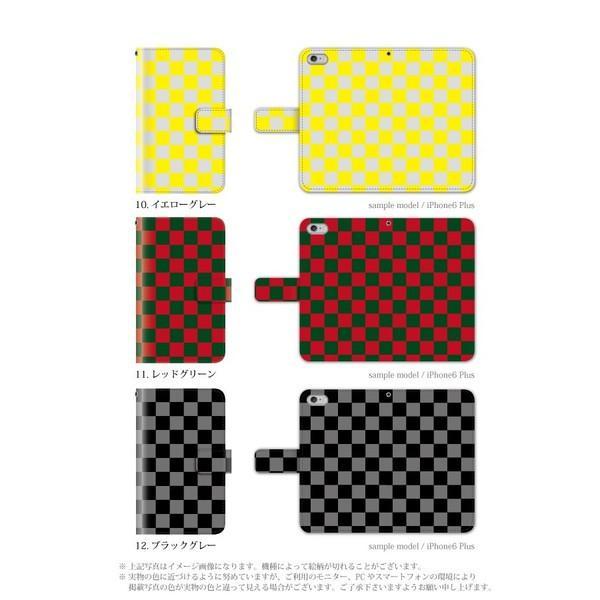 スマホケース 手帳型 iphone7plus iphone7プラス アイフォン7 プラス 携帯ケース 手帳 アイホン おしゃれ チェック|kintsu|05