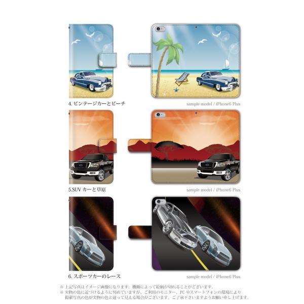 スマホケース 手帳型 iphonexs ケース 携帯ケース アイフォンxs スマホカバー 手帳 アイホン おしゃれ 面白い  車|kintsu|03