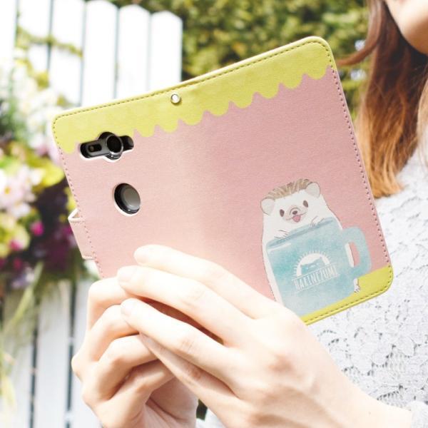 スマホケース 手帳型 iphonexs ケース 携帯ケース アイフォンxs スマホカバー 手帳 アイホン おしゃれ 動物 ハリネズミ|kintsu|08