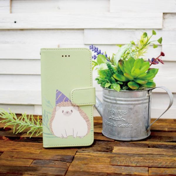 スマホケース 手帳型 iphonexs ケース 携帯ケース アイフォンxs スマホカバー 手帳 アイホン おしゃれ 動物 ハリネズミ|kintsu|09