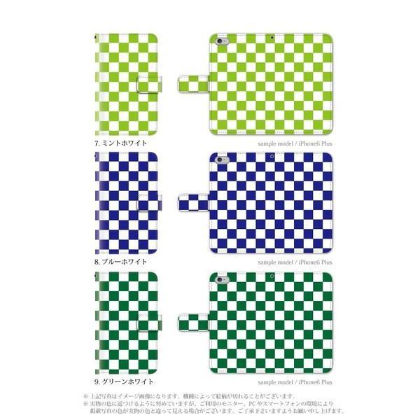 スマホケース HTC u11 Life ケース 手帳型 おしゃれ simフリースマホ カバー メンズ チェック|kintsu|04