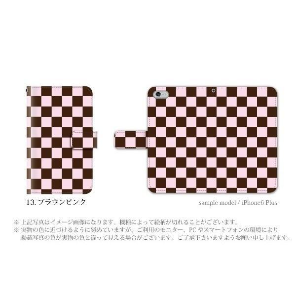スマホケース HTC u11 Life ケース 手帳型 おしゃれ simフリースマホ カバー メンズ チェック|kintsu|06