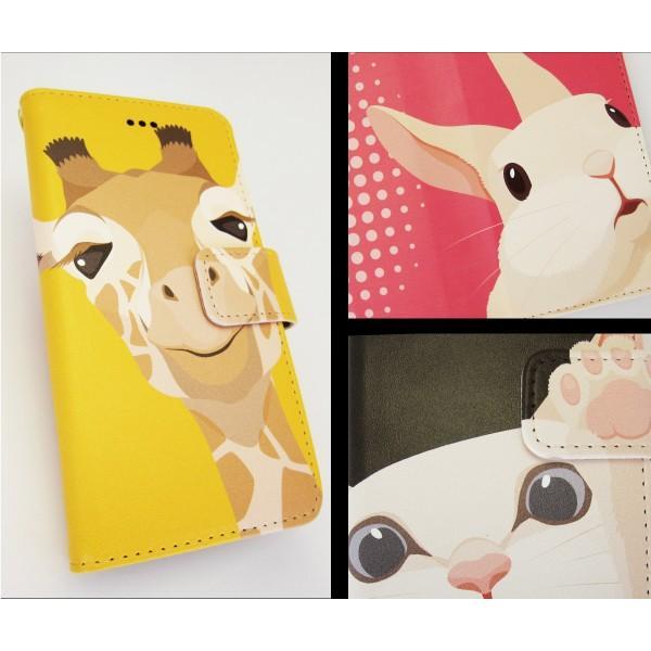 スマホケース 手帳型 全機種対応 iphone8 iPhone XR AQUOS r3 sense2 ケース Xperia 1 ace xz3 xz2 GALAXY S10 携帯ケース アンドロイド 動物|kintsu|08