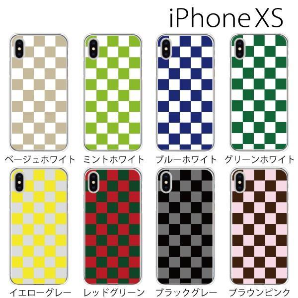 スマホケース iphonexs ケース スマホカバー 携帯ケース アイフォンxs ハード カバー チェッカーフラッグ|kintsu|02