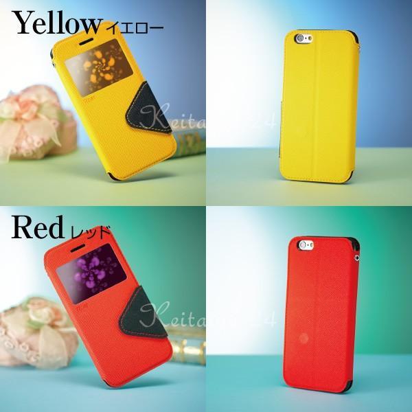 iPhone6s ケース 手帳型ケース 窓付き iPhone 6s 6 plud Galaxy S6 /  Fancy Diary Case|kintsu|05