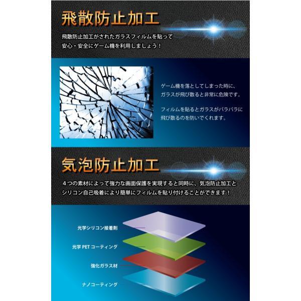 Nintendo Switch ブルーライト強化ガラスフィルム 送料無料 液晶保護 画面保護 表面硬度9H ニンテンドースイッチ 任天堂|kintsu|05
