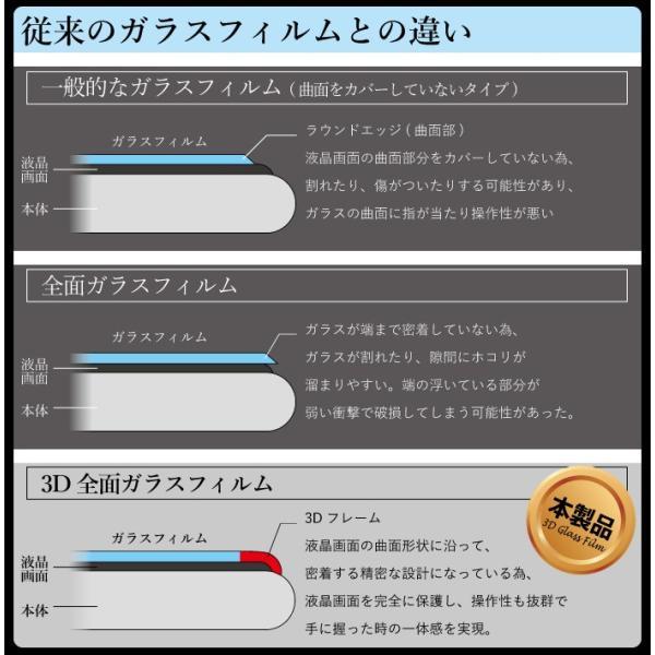 iphone8 フィルム iphone xs 液晶保護フィルム ガラスフィルム 全面保護 iphone7 plus iphone6 s スマホフィルム 強化ガラス|kintsu|04