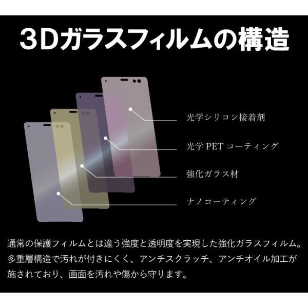 xperia xz3 フィルム 保護フィルム 全面保護 クリア ガラスフィルム 液晶保護フィルム  エクスペリアxz3 スマホフィルム|kintsu|11