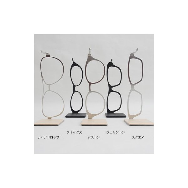meganeHanger Glasses <メガネハンガー グラシーズ> フォックス黒/黒 kinzokuoh