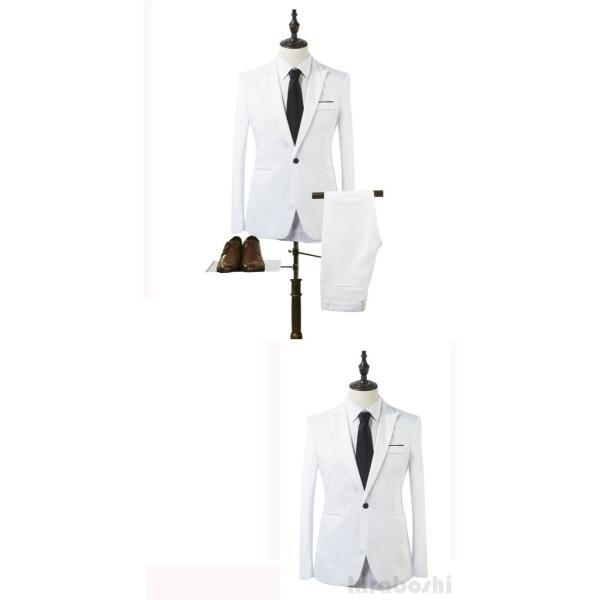 メンズスーツセット ビジネススーツ メンズスーツ スーツセット スーツセットアップ  上下セット フォーマル 就活 就職 紳士服 結婚式 通勤 2019新作 kirabosi 03