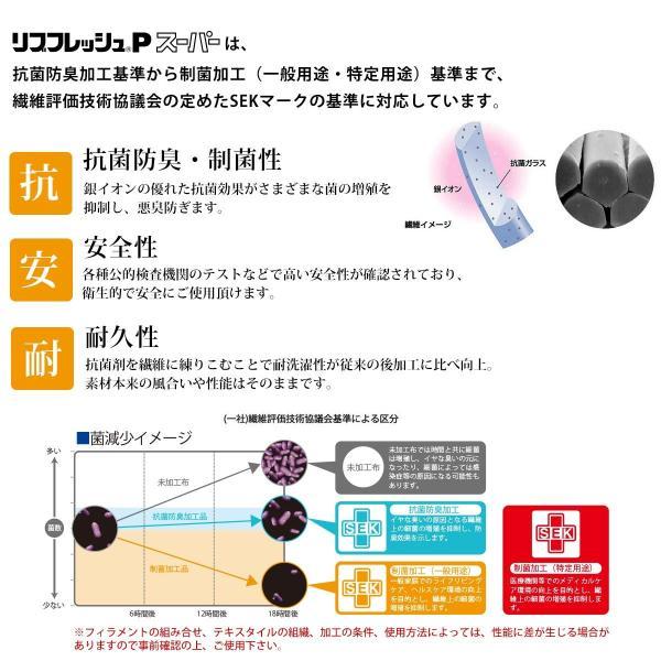 マスク レースマスク 四層 日本製 リブフレッシュPスーパー 制菌 抗菌 防臭 銀イオン 洗える 立体型 布マスク 繰り返し使える 白 クリーム|kirakukai|05
