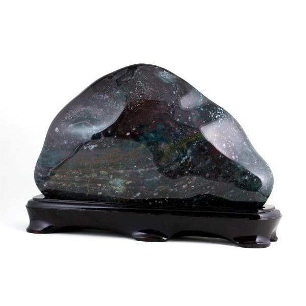 ブラッドストーン 置石 3.8kg