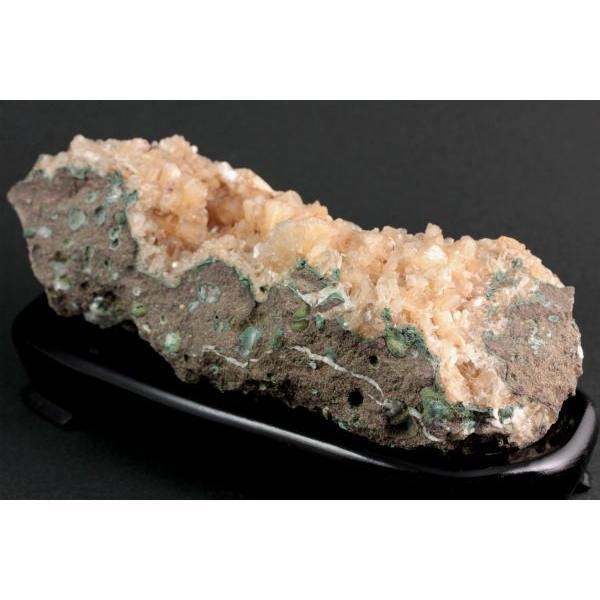 ヒューランダイト(輝沸石) 置石 437g