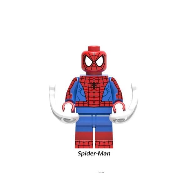 スパイダーマン グリーンゴブリン 2体ほか ミニフィグ 8体セット レゴ互換  / スパイダーハム|kirattofigure|02