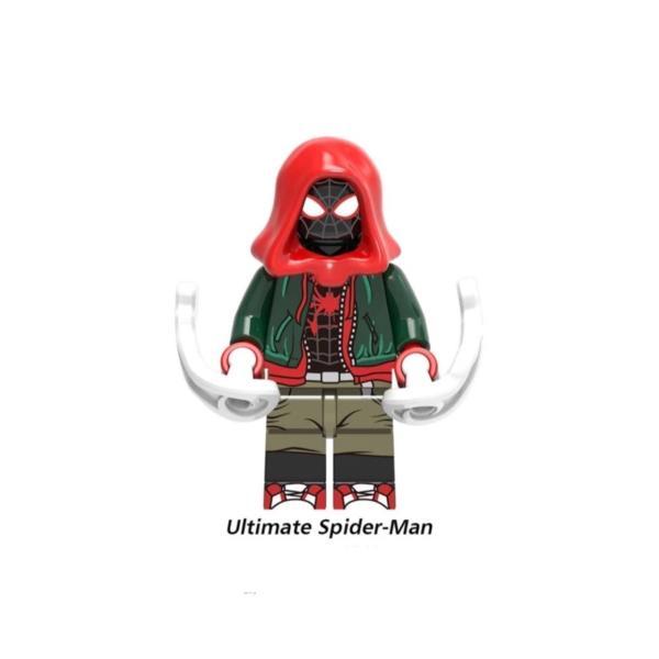 スパイダーマン グリーンゴブリン 2体ほか ミニフィグ 8体セット レゴ互換  / スパイダーハム|kirattofigure|05