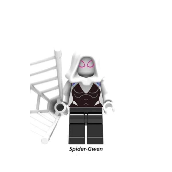 スパイダーマン グリーンゴブリン 2体ほか ミニフィグ 8体セット レゴ互換  / スパイダーハム|kirattofigure|06