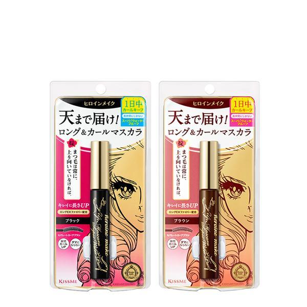ロング&カールマスカラ スーパーWP 01 漆黒ブラック 6g