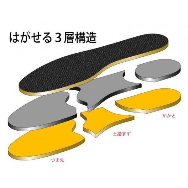 極厚インソール サイズ調整用  Mサイズ 男女兼用 靴 インソール サイズ調整 中敷き