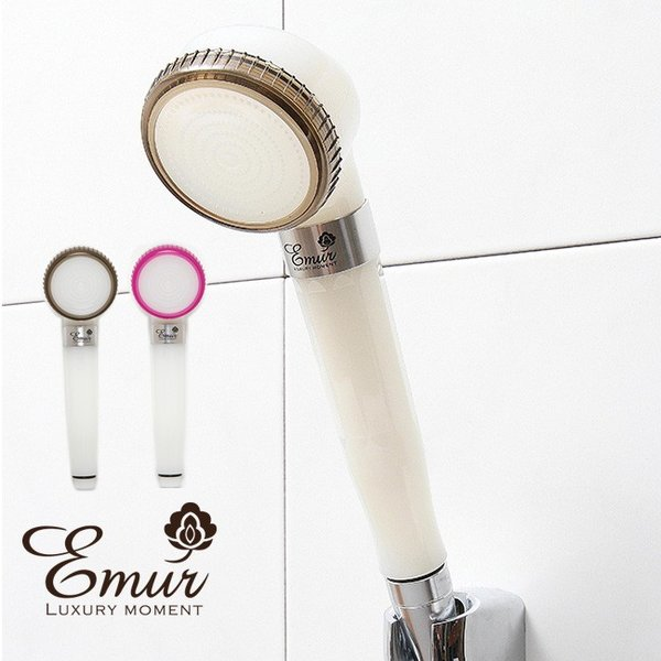 Emur エミュール ファインバブルシャワー(シャワーヘッド 節水 ファインバブル シャワー ヘッド 美容 髪 肌 おすすめ)
