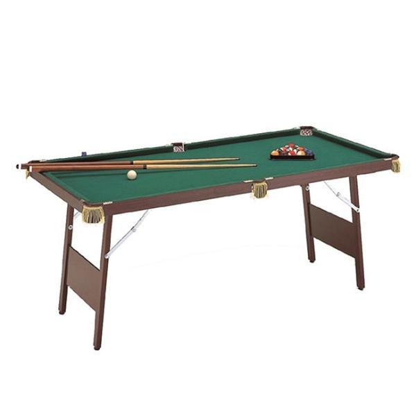 ビリヤードテーブル ES-1800(ビリヤード台/本格/キュー/球/セット/家庭) メーカー直送 2-3W