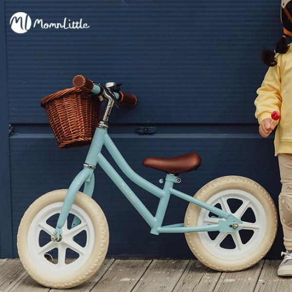MomnLittle バランスバイク(キックバイク 子供 女の子 3歳 4歳 5歳 6歳 7歳 キッズバイク 子ども キッズ バイク おしゃれ) 即納