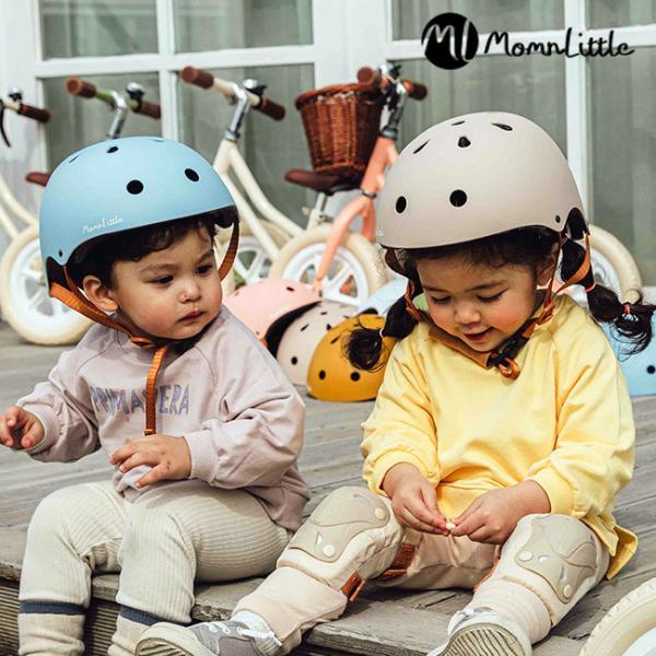 MomnLittle キッズヘルメット(ヘルメット 子供用 子供 子ども キッズ 女の子 幼児 おしゃれ かわいい 人気 自転車) 即納